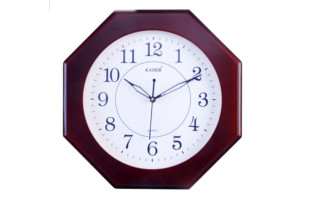 Wooden Deluxe Clocks Samay Quartz Dealers In Wall