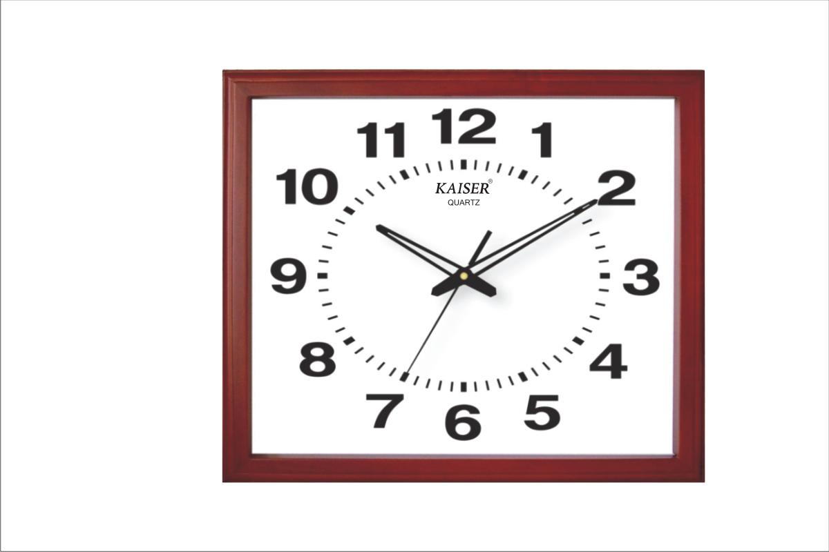 Wooden Office Clocks Samay Quartz Dealers In Wall