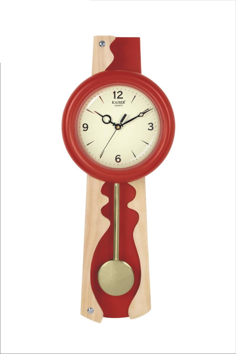 Wooden Premium Clocks Samay Quartz Dealers In Wall